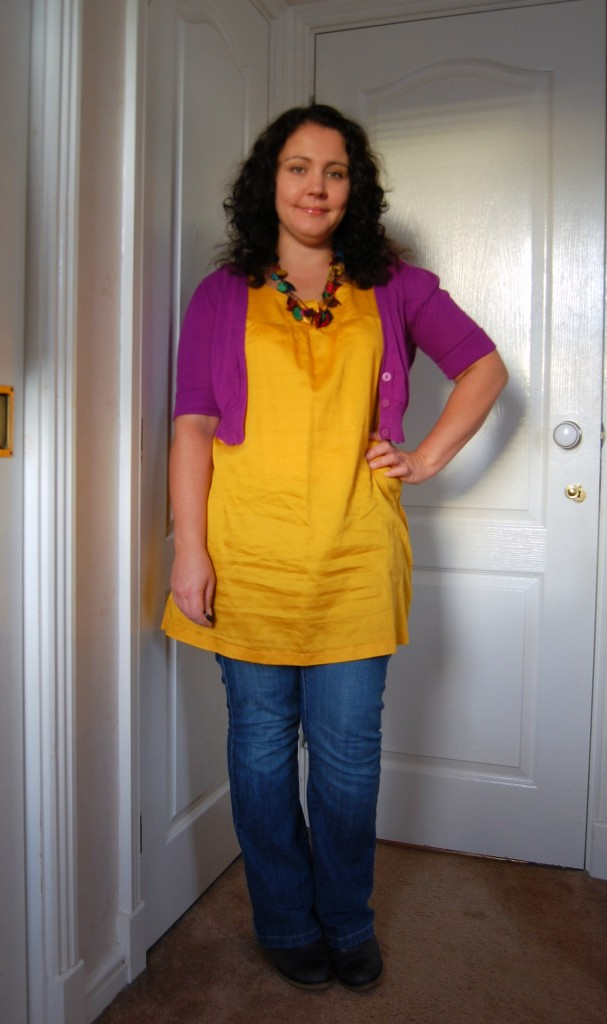 032 607x1024 Charity Shop Chic AW11   Colour Blocking