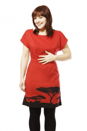kilele dress Tuesday Treats   Ethical Red Dresses