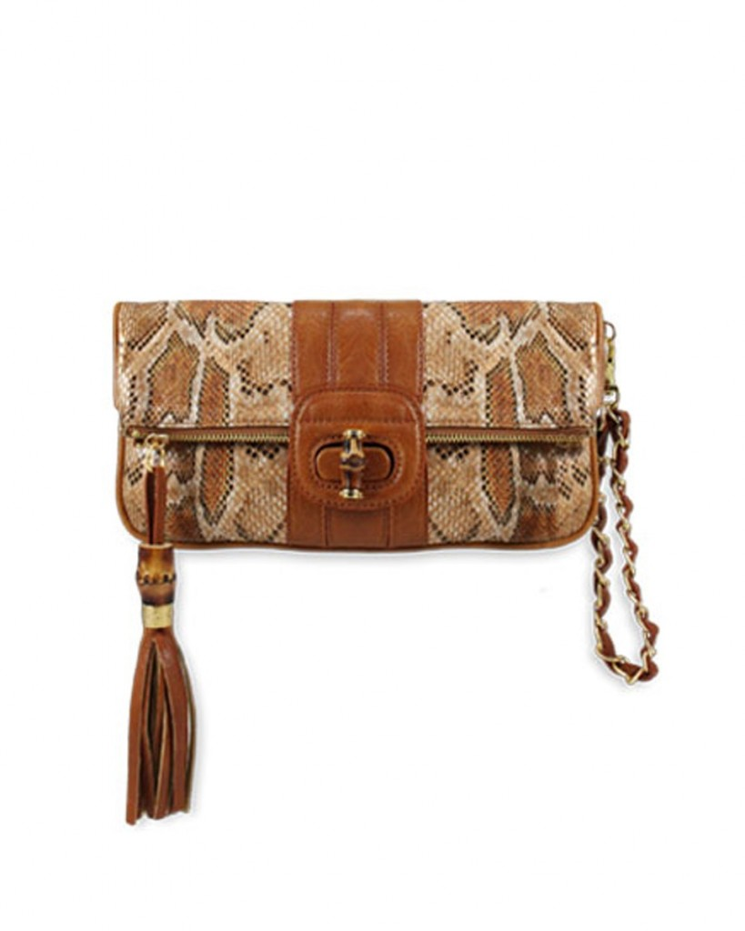 melie bianco sophia python clutch vegan bag brown ethical fashion 1 819x1024 Tuesday Treats   Ethical Autumn Trends