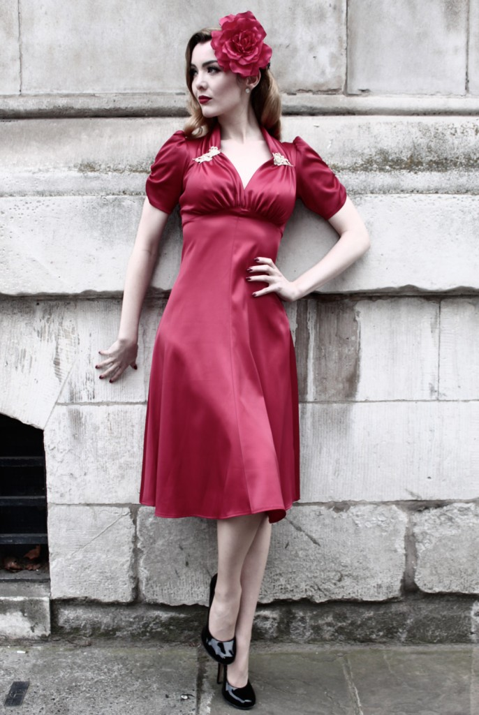satin sweetheart 686x1024 Tuesday Treats   Ethical Red Dresses