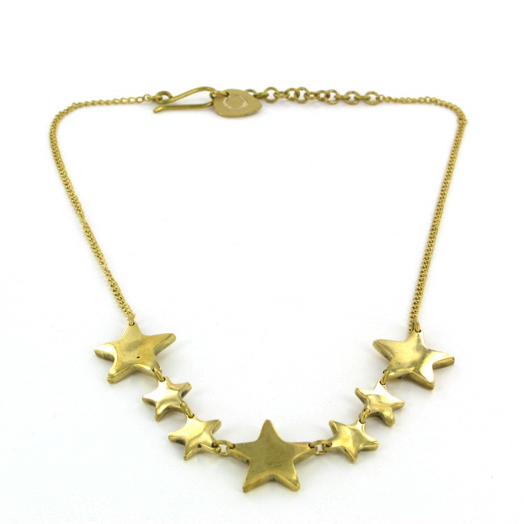 fairtrade star necklace