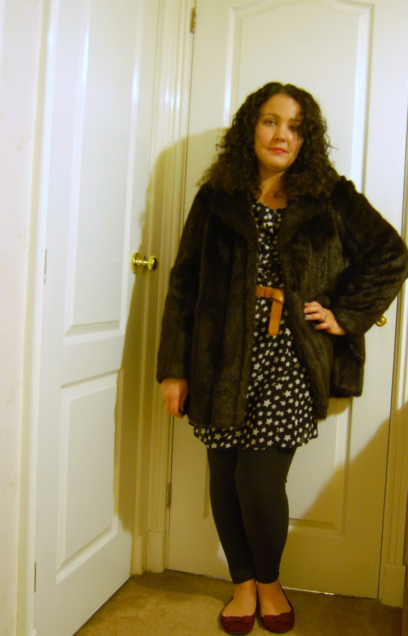 037 Charity Shop Faux Fur Outfits