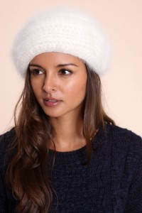 fluffy beret 200x300 Tuesday Treats   Vintage Fashion Accessories and Christmas Gifts