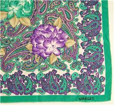 jaeger silk scarf Tuesday Treats   Vintage Fashion Accessories and Christmas Gifts