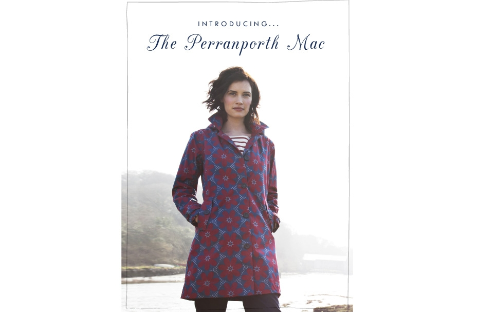Perranporth Mac lookbook p1 30 Days of Ethical Fashion   Seasalt