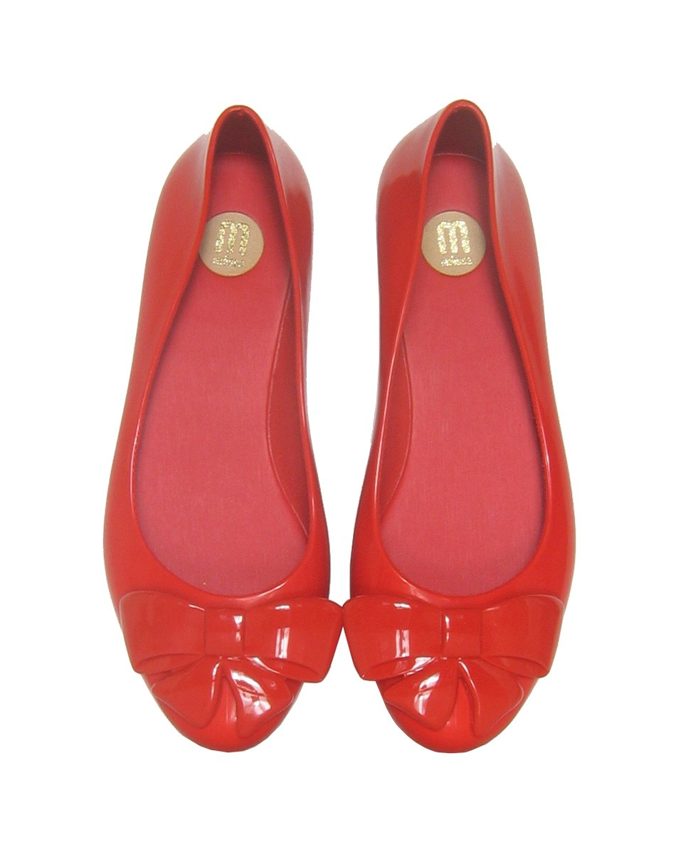 melissa vegan wanting bow flat shoes red top w 1 30 Days of Ethical Fashion   Melissa Shoes