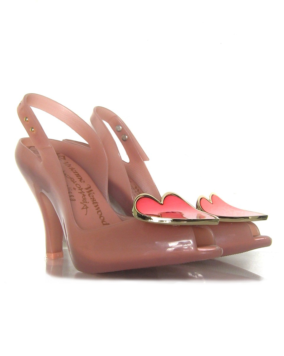 melissa vw lady dragon gold heart 5 w blush pair 30 Days of Ethical Fashion   Melissa Shoes