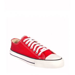 red trainers 30 Days of Ethical Fashion   Ethletic Shoes