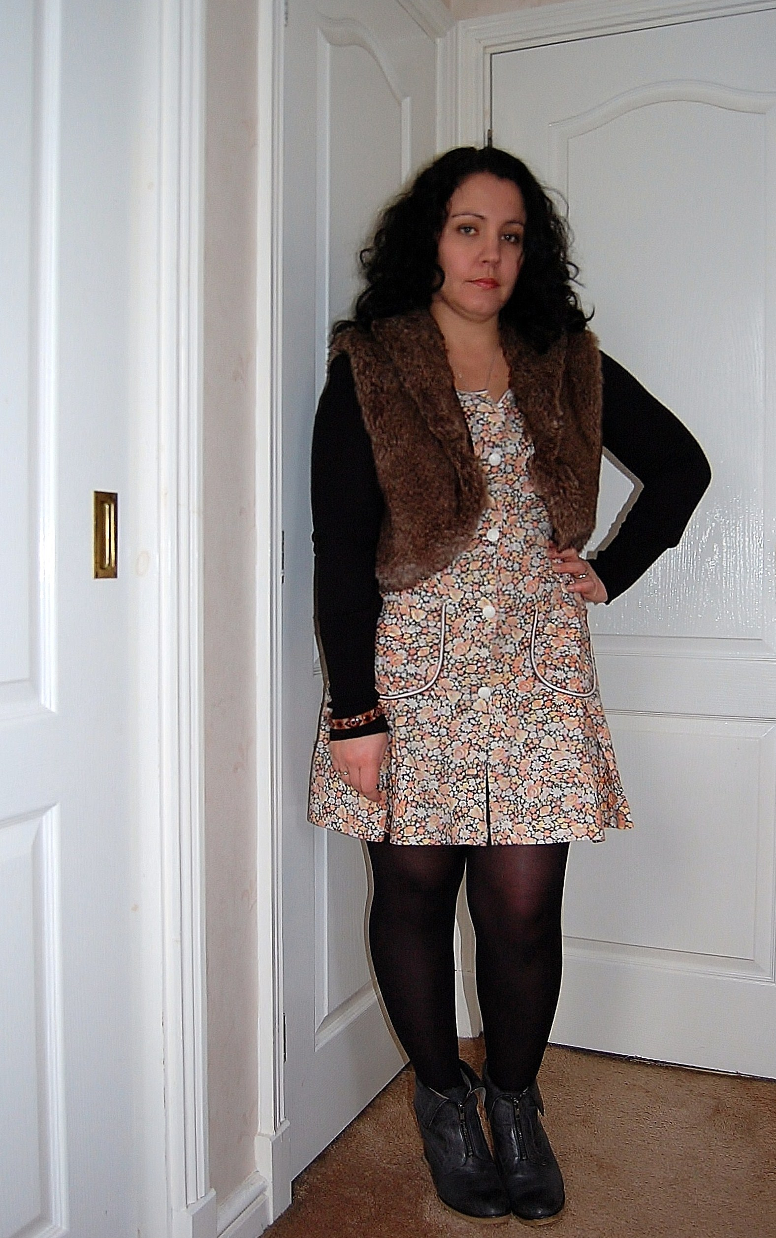 ethical outfit ww1 Ethical Outfit Challenge   Winter Warmers