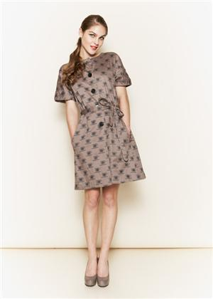 Orla Kiely for People Tree Tea Dress