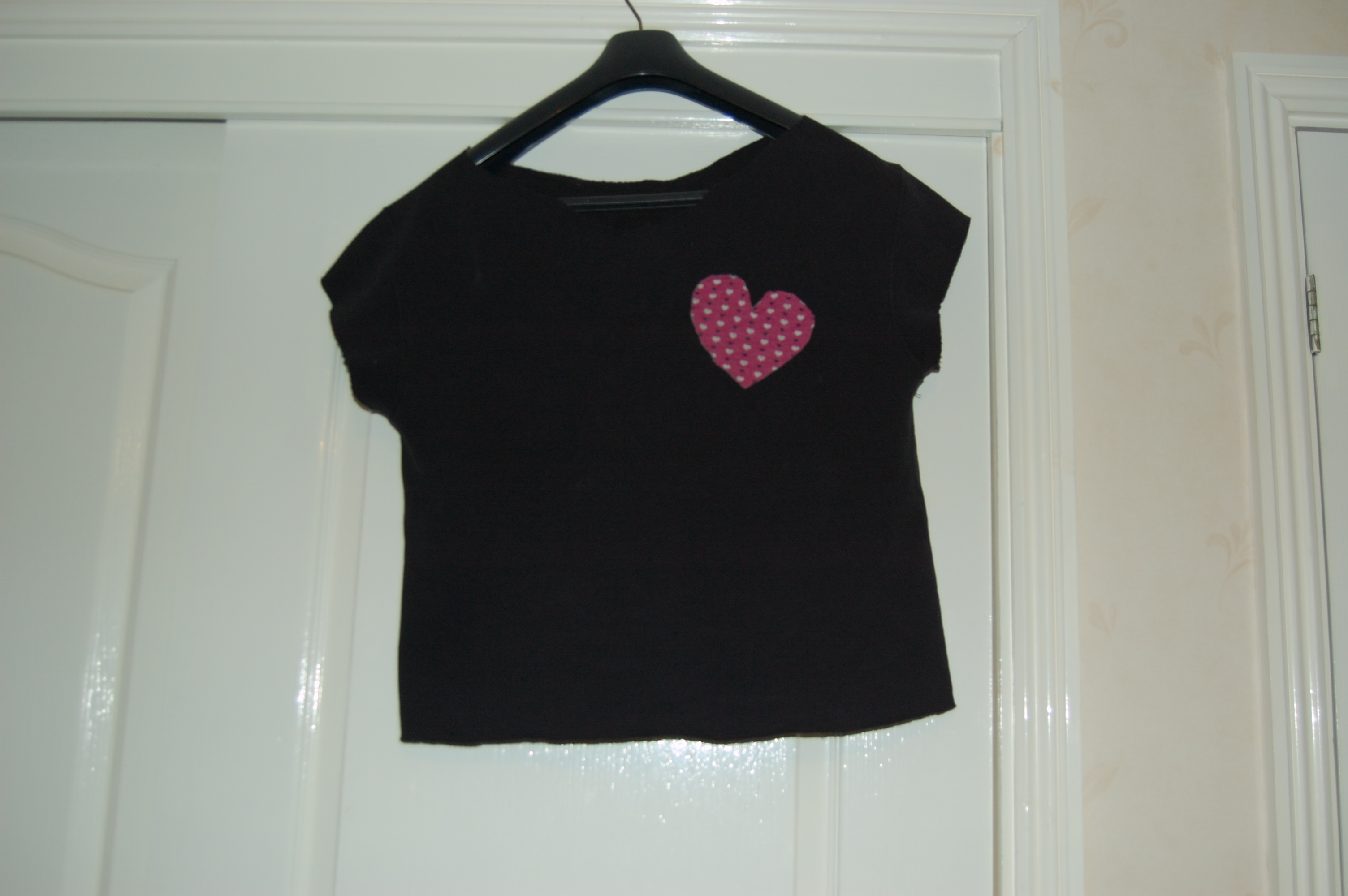 084 An Upcycled Heart Top For Valentines Day
