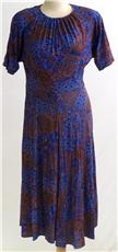blue paisley dress Paisley Love