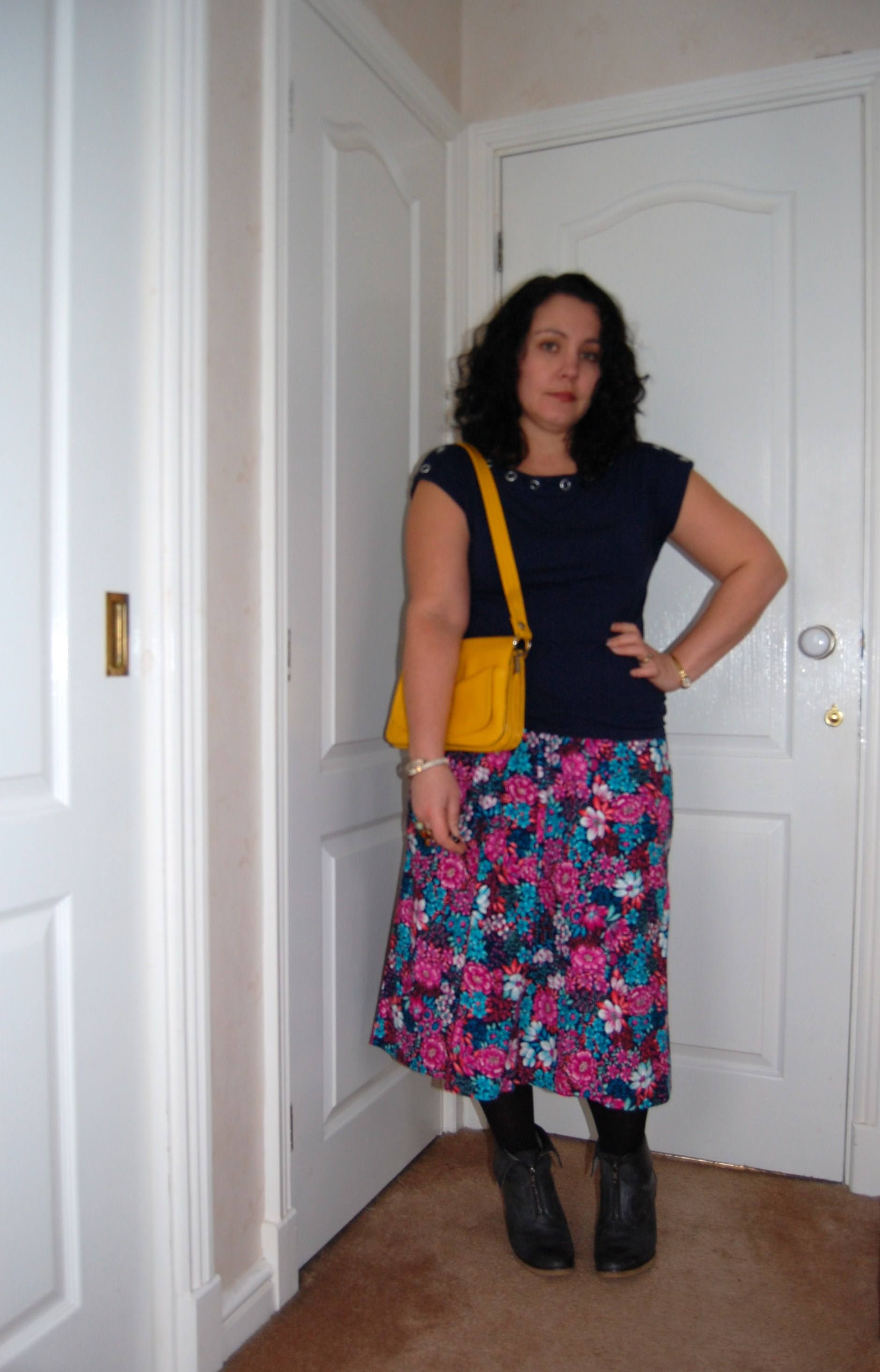 floral outfit 2 Happy Valentines Day   A Floral Bouquet Skirt