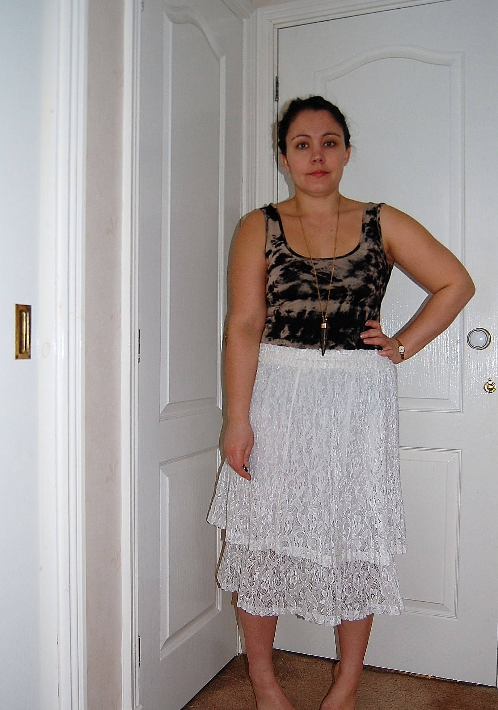 lace skirt 2 Swap In The City