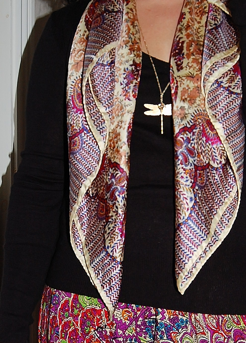 scarf Paisley Love
