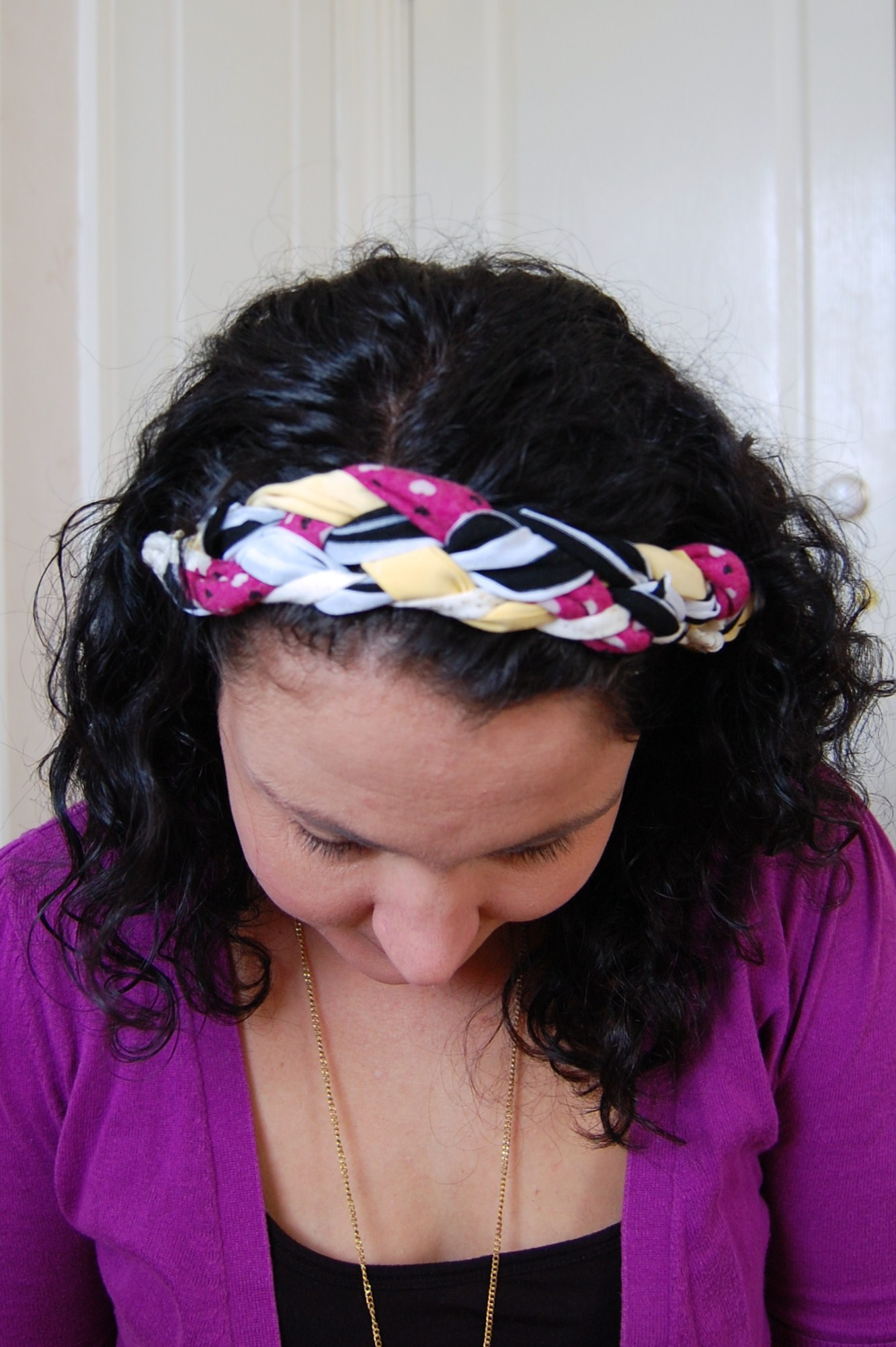 073 21 DIY Hairband From Old T Shirts