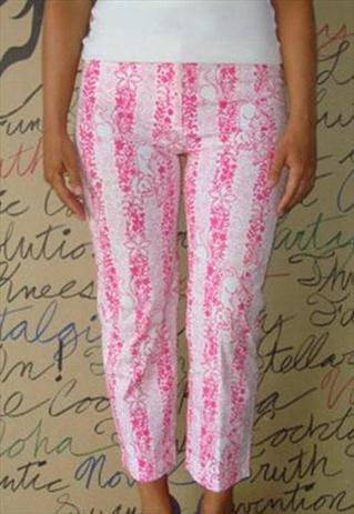 lily Pulitzer Spring 2012   Patterned Trousers