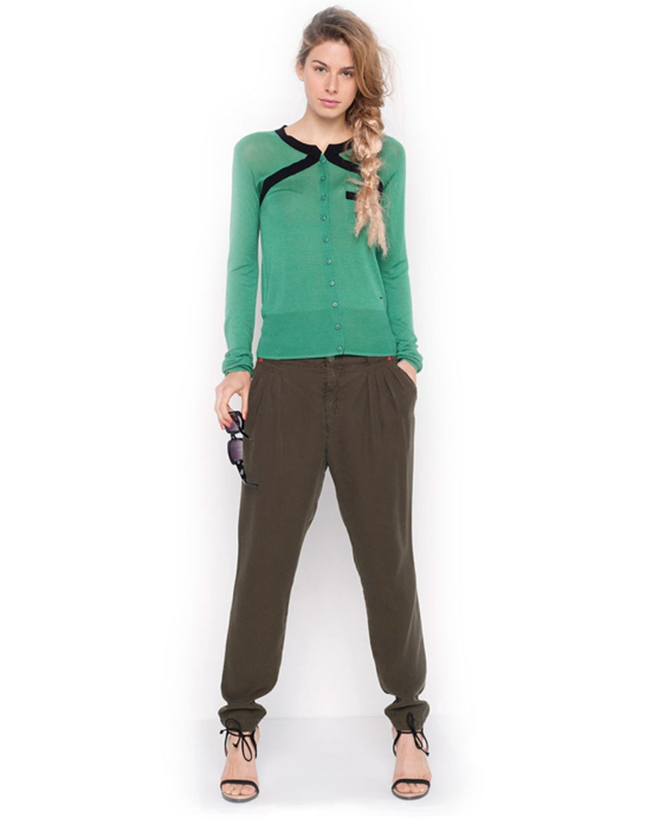 skunkfunk urzelai green cardigan sustainble SkunkFunk   A Collection That Endures Trends