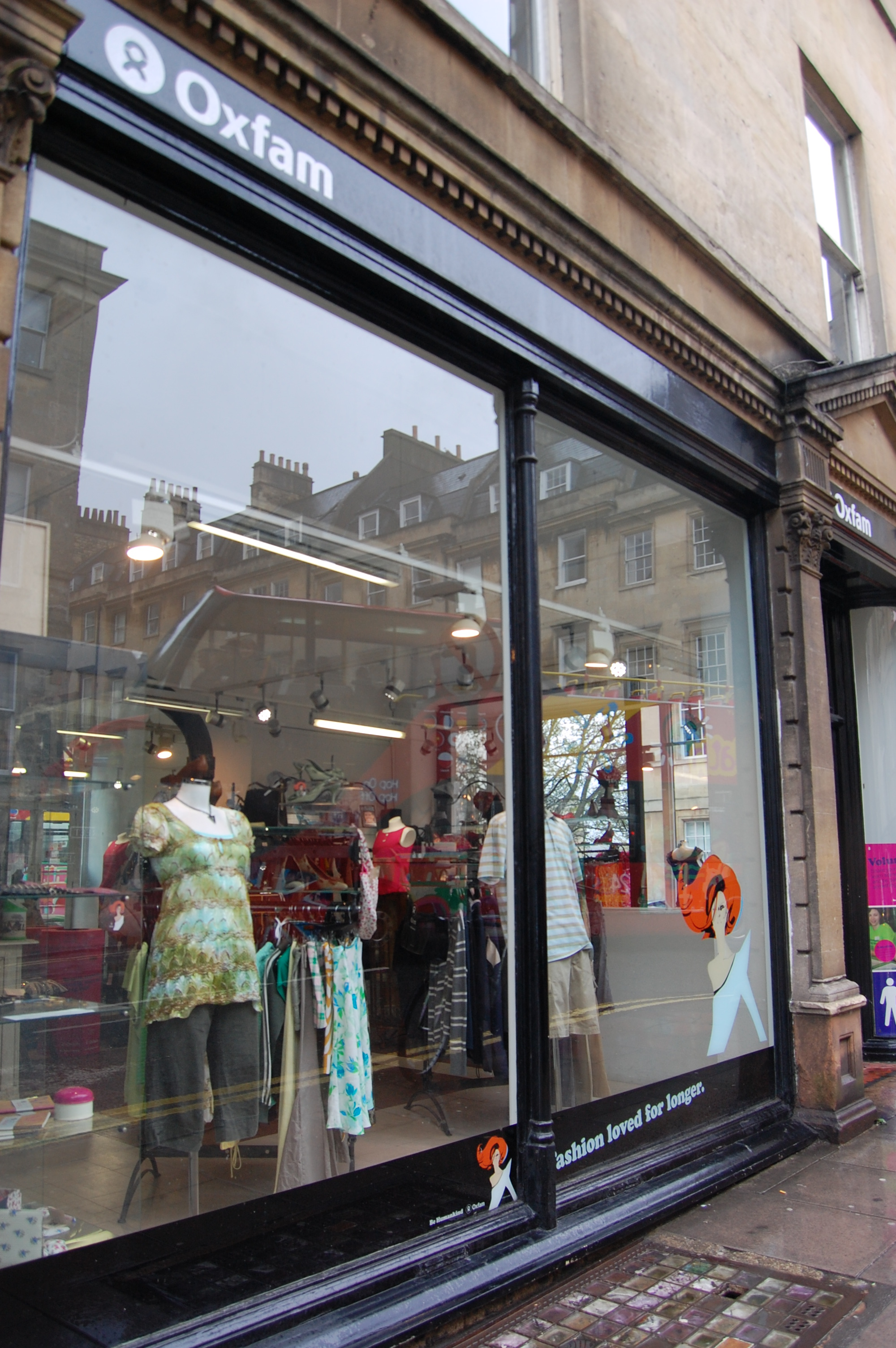 Oxfam Boutique Bath