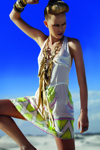 Lalesso 2 Ethical Prints For Spring Summer 2012