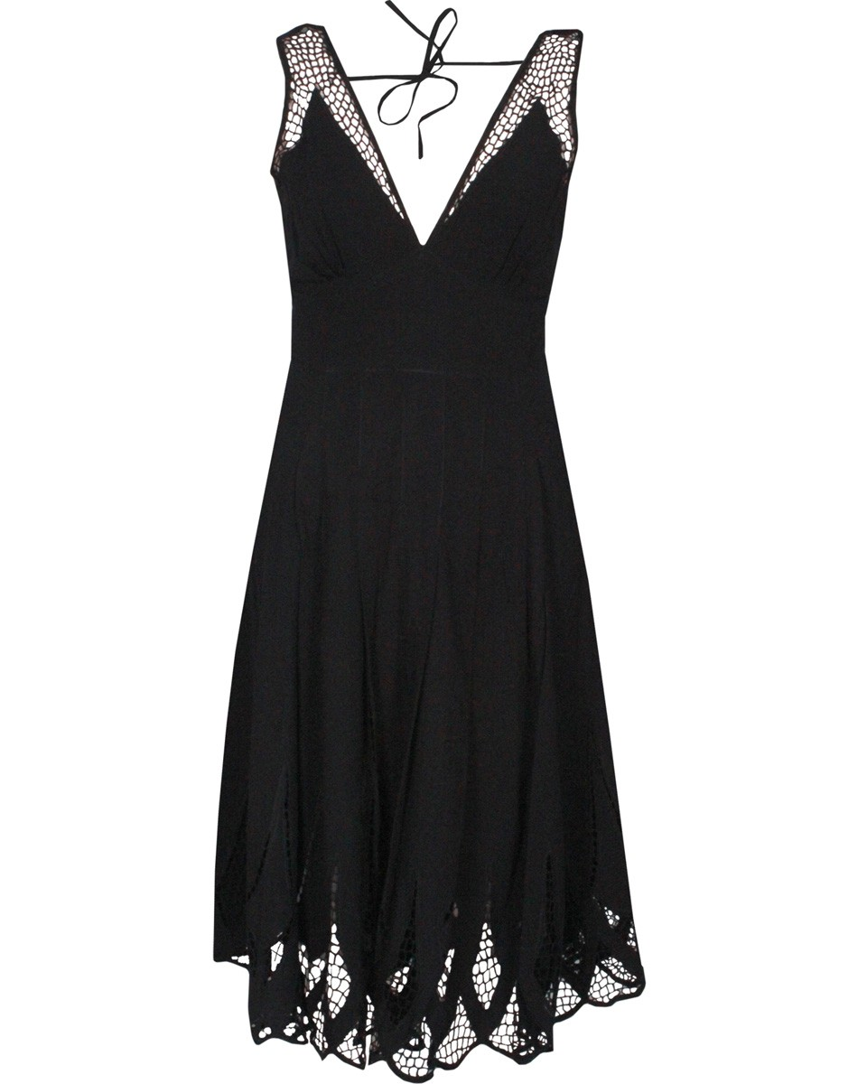 ethical black dress