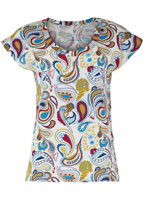 zakee shariff paisley t shirt