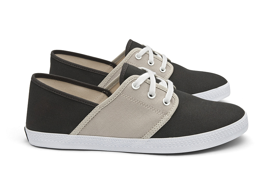Veja Mediterran+®e Anthracite Ice Lateral Par1 Veja Ethical Shoes and the Observer Ethical Awards
