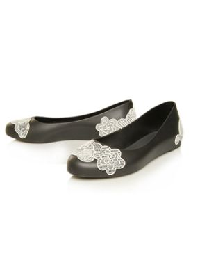 melissa shoes Lace Detail