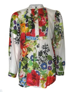 gringo fair trade floral shirt 240x300 Wear Your Wardrobe Challenge