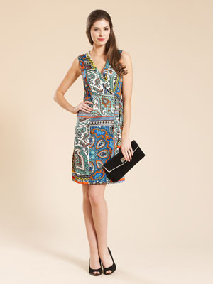 Monsoon koscian wrap dress