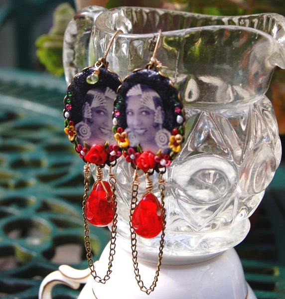 Josephine Baker Earrings