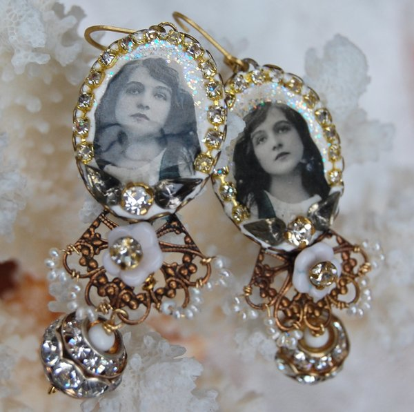 Mary Pickford earrings
