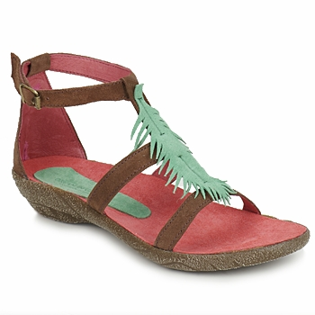 Sandals Dream in Green SOMBRA 82585 350 A Ethical Summer Shoes In the Spartoo Sale