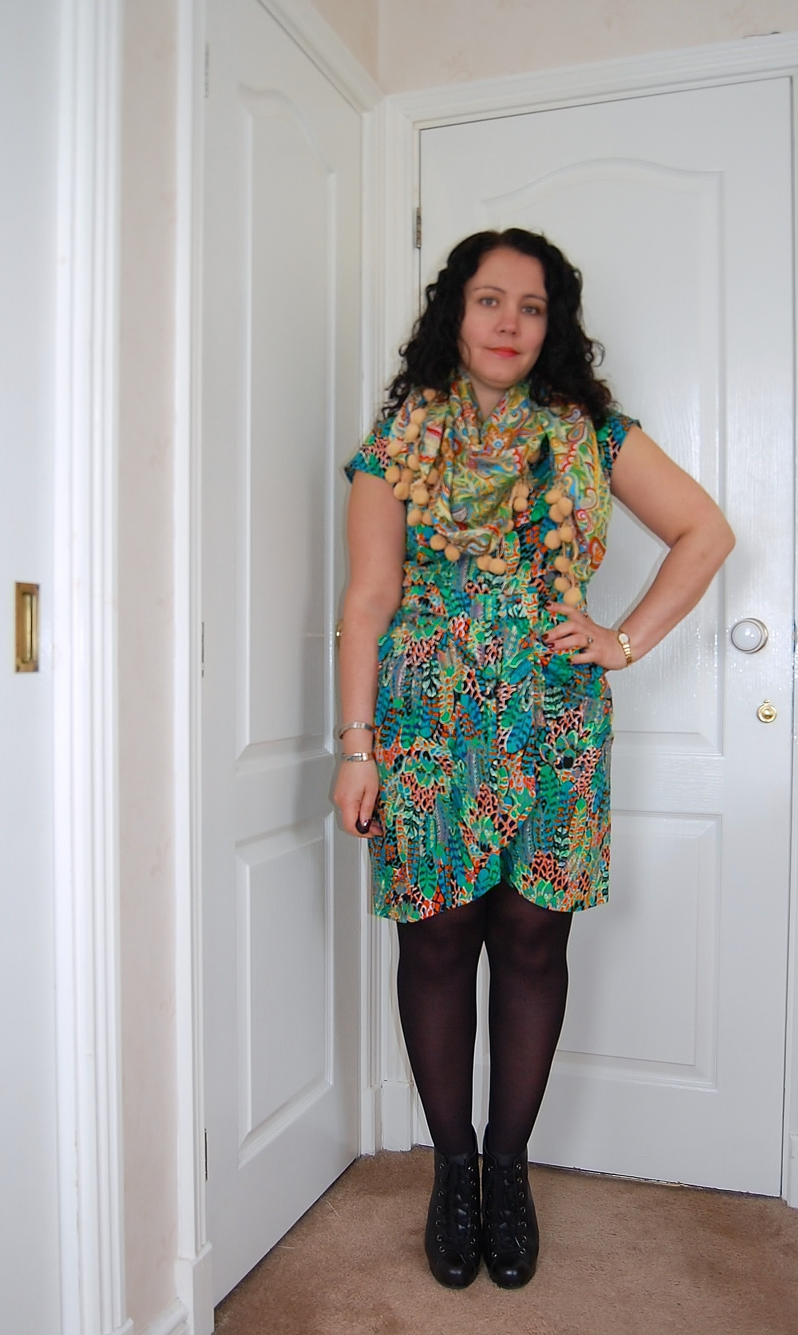 monsoon dress Six Items Challenge Update   Week One