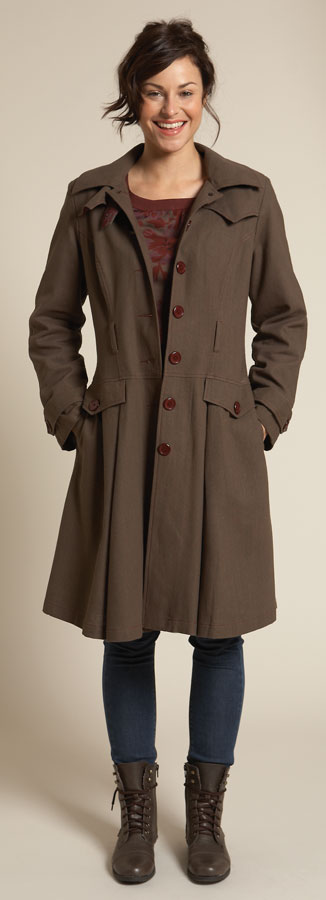Fairtrade trench coat