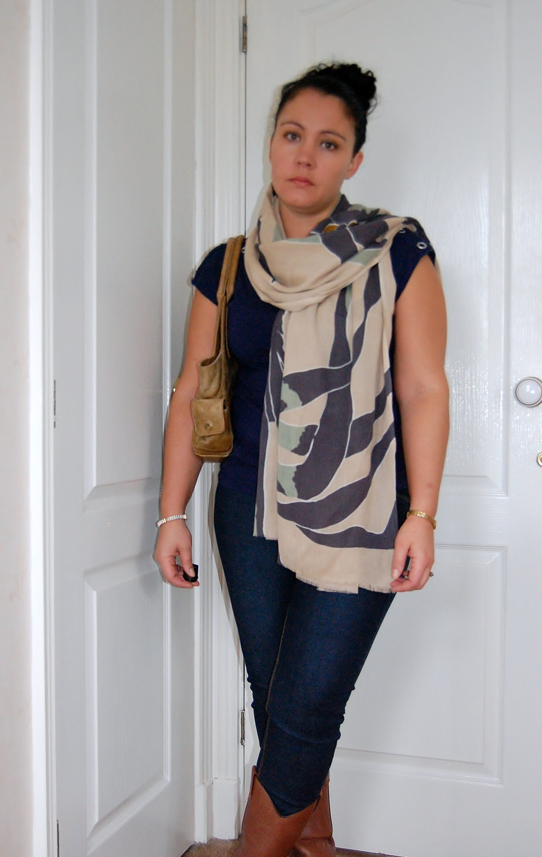 scarf by Elin Kling for Hoss Intropia