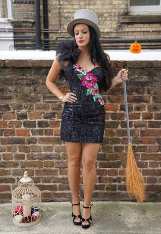 lace beaded dress Vintage Fashion at ASOS Marketplace