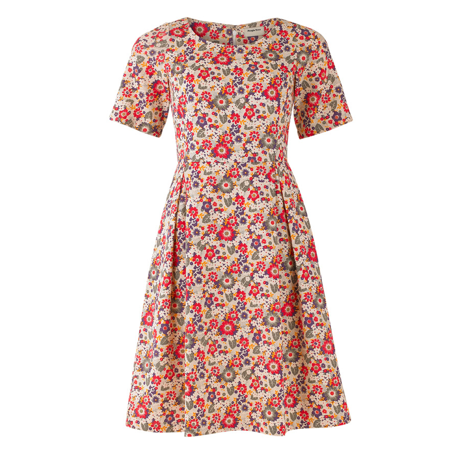 people tree floral dress Fashion at Ethical Superstore