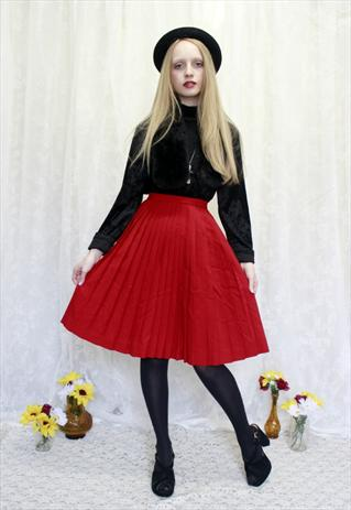 pleated skirt Vintage Fashion at ASOS Marketplace