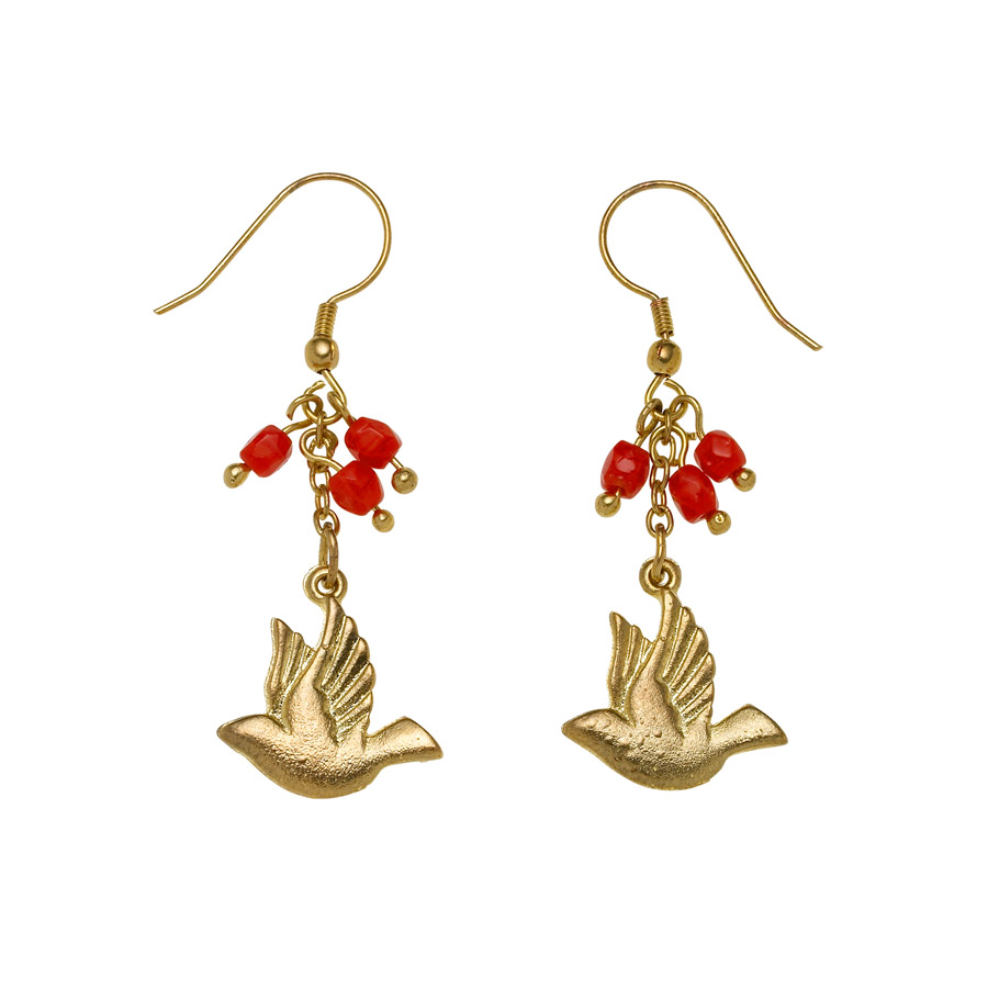 dove earrings The Stylish, Sustainable and Affordable Christmas Gift Guide