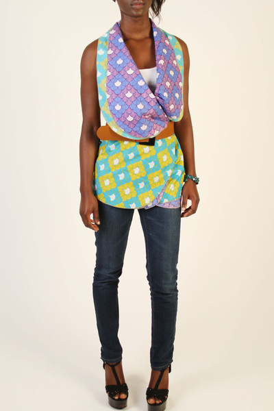revesible top African Prints and Inspiration for 2013