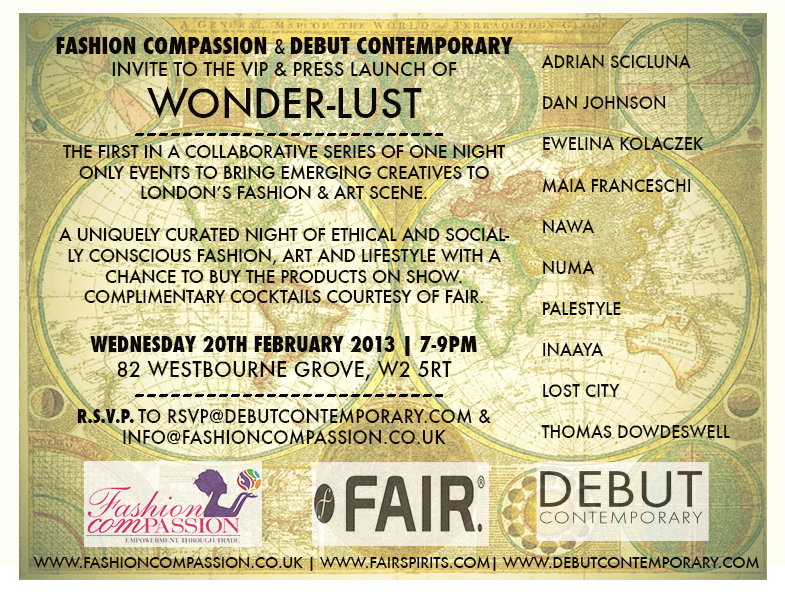 FC event Wonderlust 2013 A Party Dress and Some Ethical Fashion Updates
