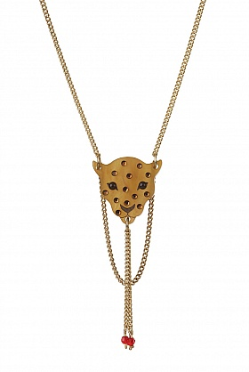 Tatty Devine Leopard Head Necklace