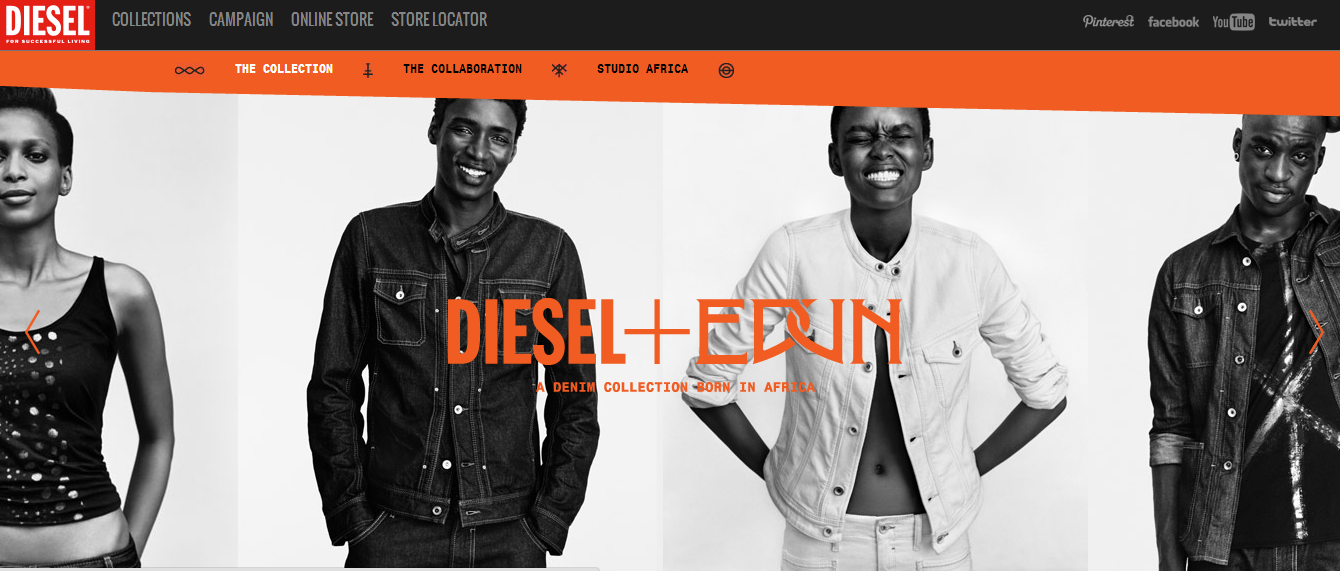 diesel + Edun Some Interesting Sustainable Fashion Collaborations