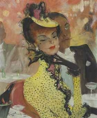 Jean Gabriel Domergue Auction House Treasures