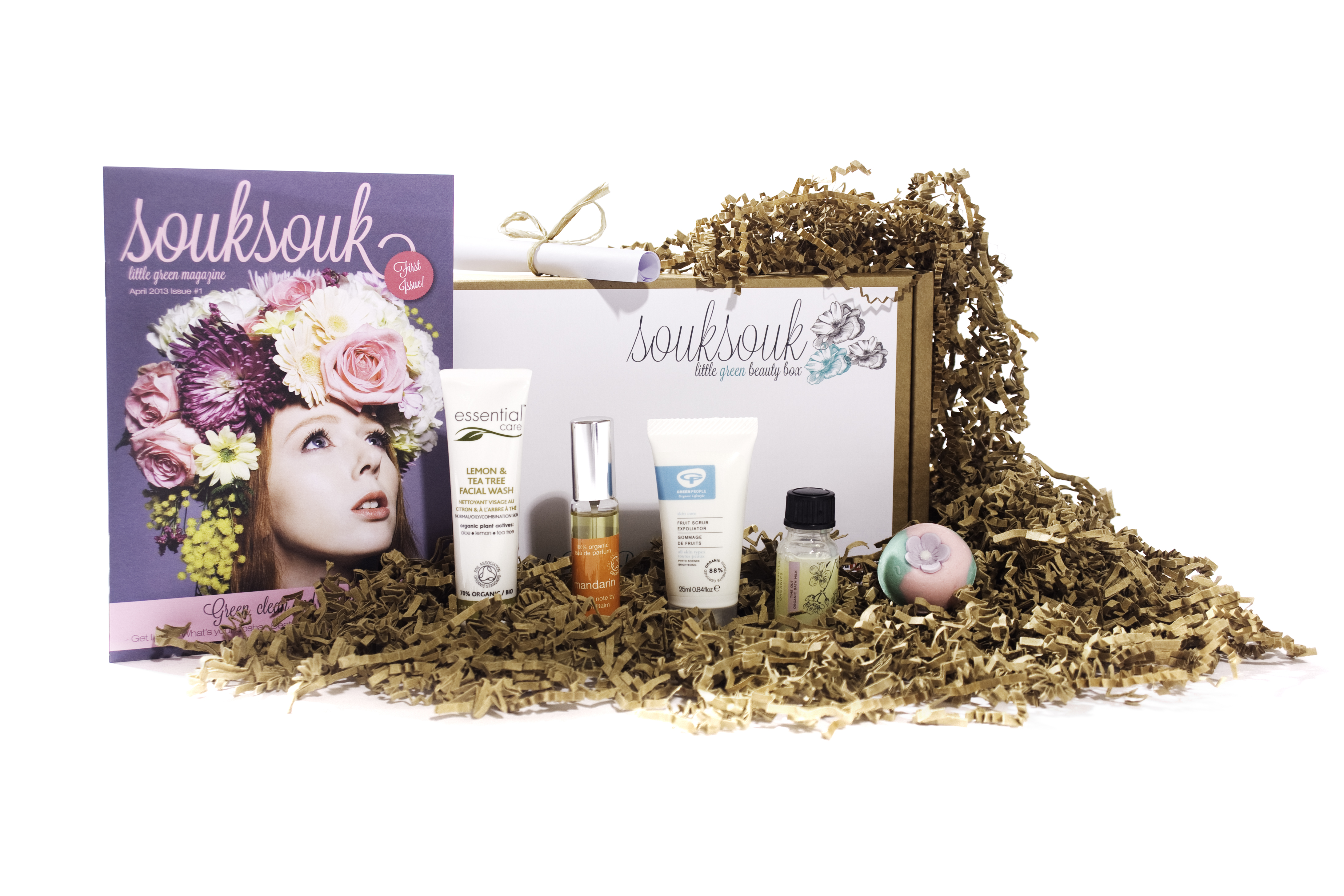 SoukSouk example beauty box Natural Beauty Spot   SoukSouk, Little Green Beauty Box Review