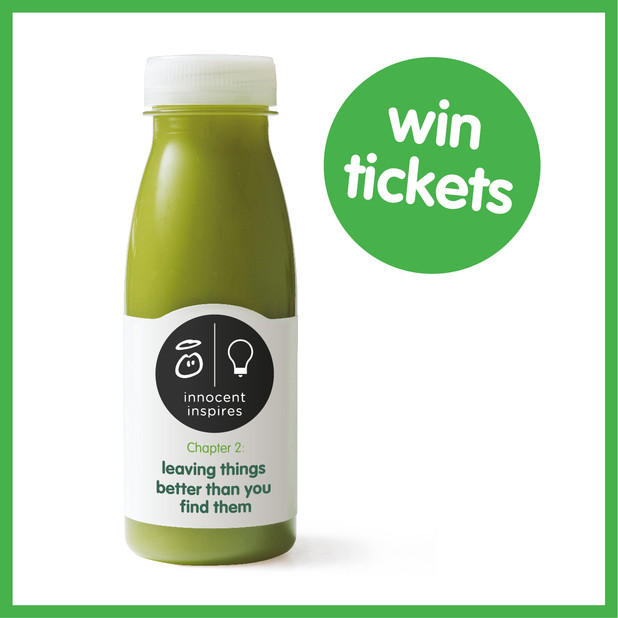 win tickets Win Tickets to Innocent Inspires and a Months Worth of Smoothies!