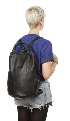 leather backpack Upcycled Fashion   10 Fresh Brands to Check Out!