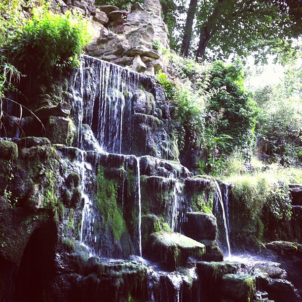 waterfall A New Cardigan and Summer Instagrams