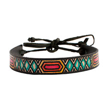 leather friendship bracelet New Season Ethical Accessories